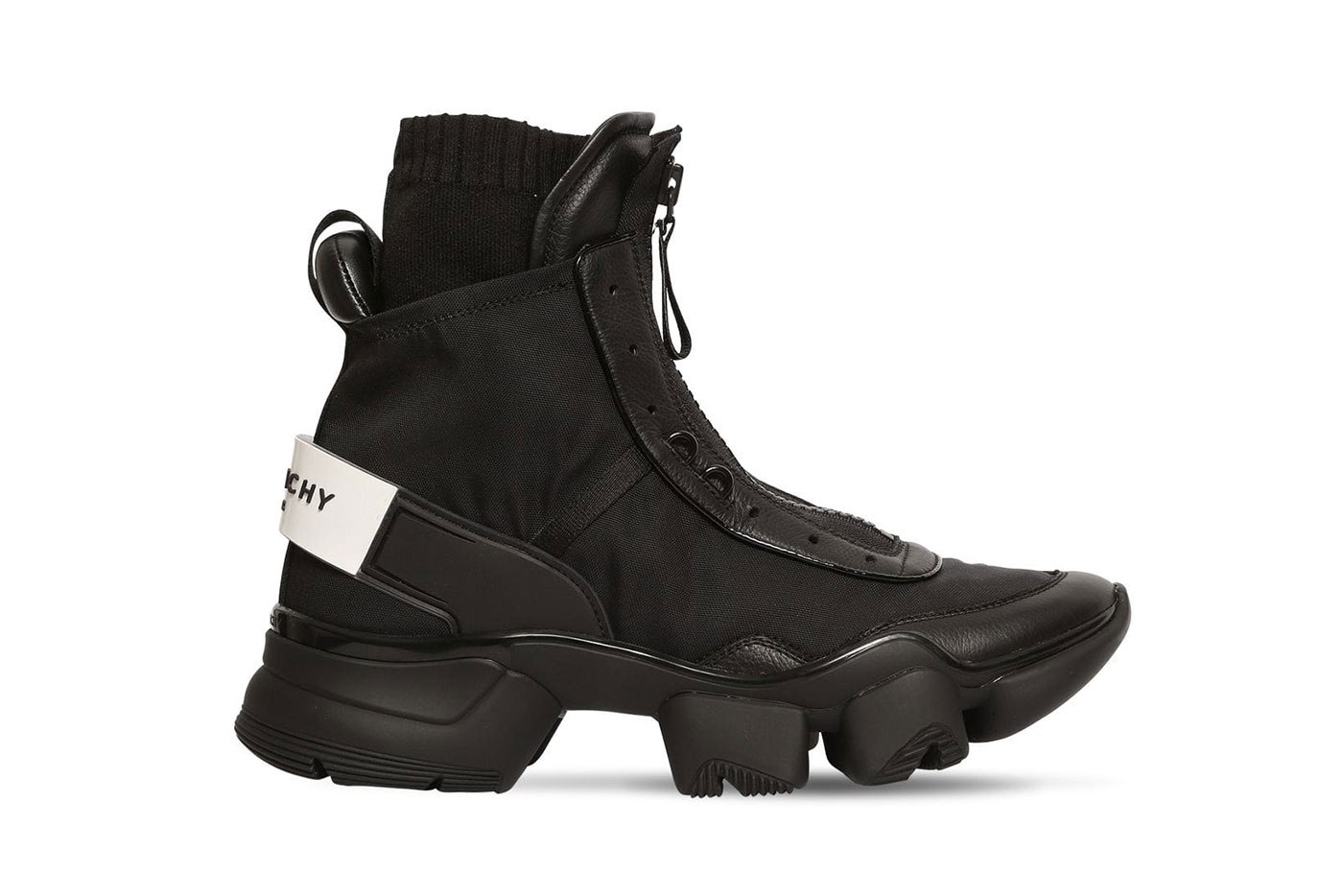 Givenchy Jaw Nylon Sock High-Top Sneakers