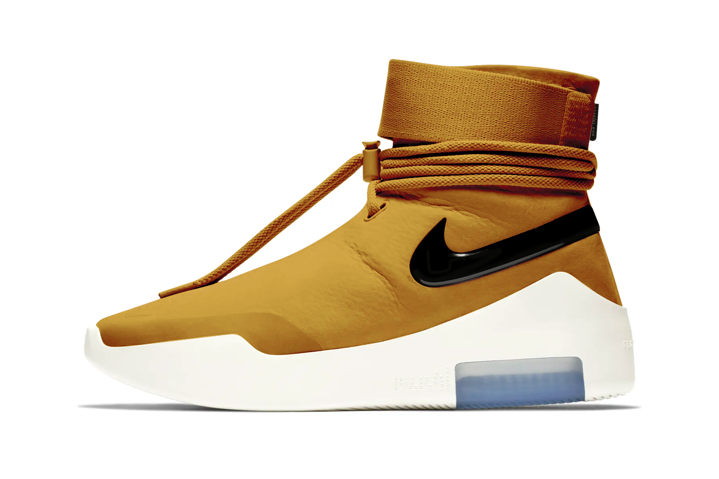 Nike Air Fear of God SA Shoot Around Wheat Gold Announcement Jerry Lorenzo