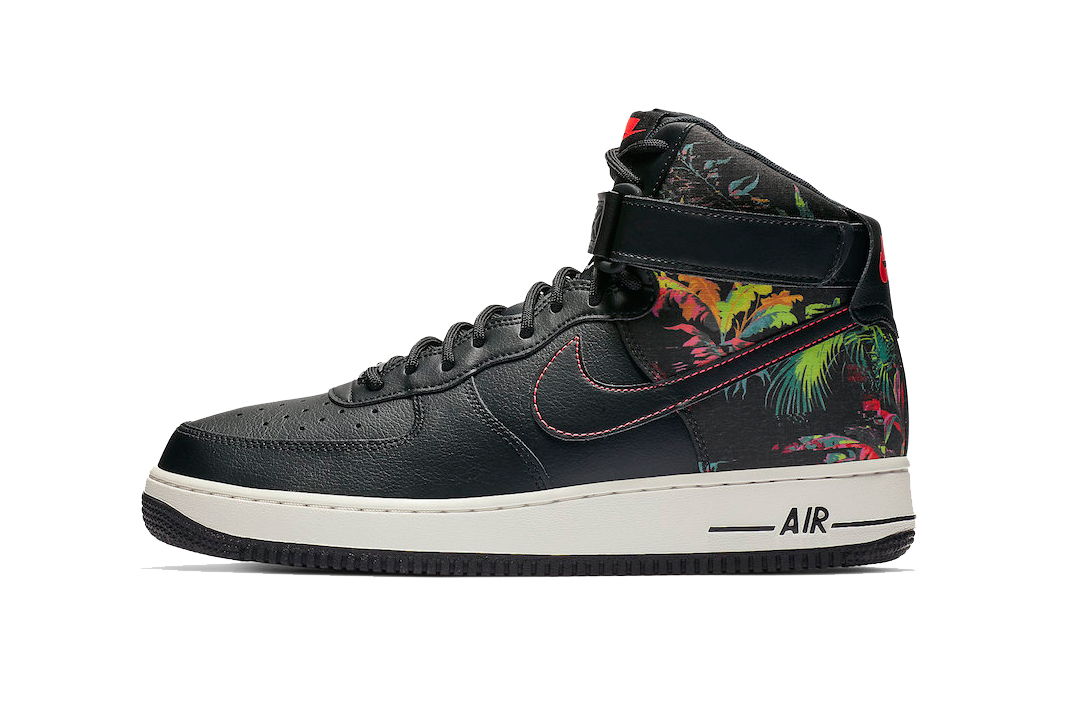 "check out bb651 b1ee3 Nike Air Force 1 High ""Black Floral"""