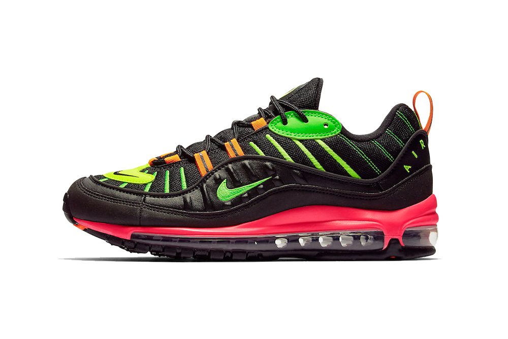 "the best attitude be1ae 589aa Nike Air Max 98 ""Neon"""