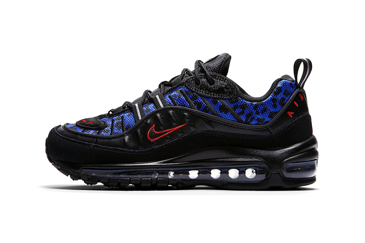 "quality design 55be4 4f732 Nike Air Max 1   Air Max 98 Premium ""Black Leopard"" Pack"