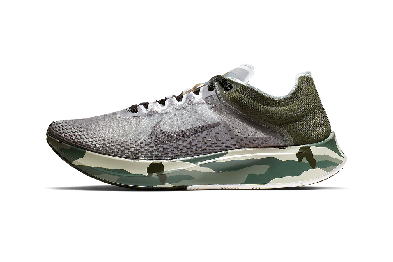 Nike Zoom Fly SP Fast Sequoia Golden Moss Release