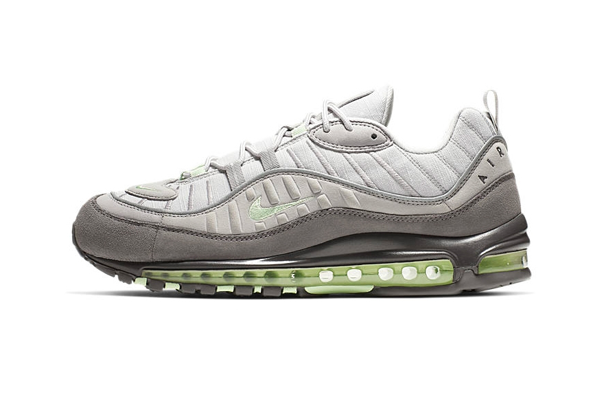 "official photos f59bc d320d Nike Air Max 98 ""Vast Grey Fresh Mint"""