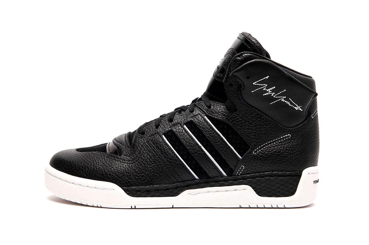 Y-3 Yohji Yamamota adidas Rivalry Hi Hayworth Black White Red Closer Look Sivas des Calzo First Cop Purchase Buy