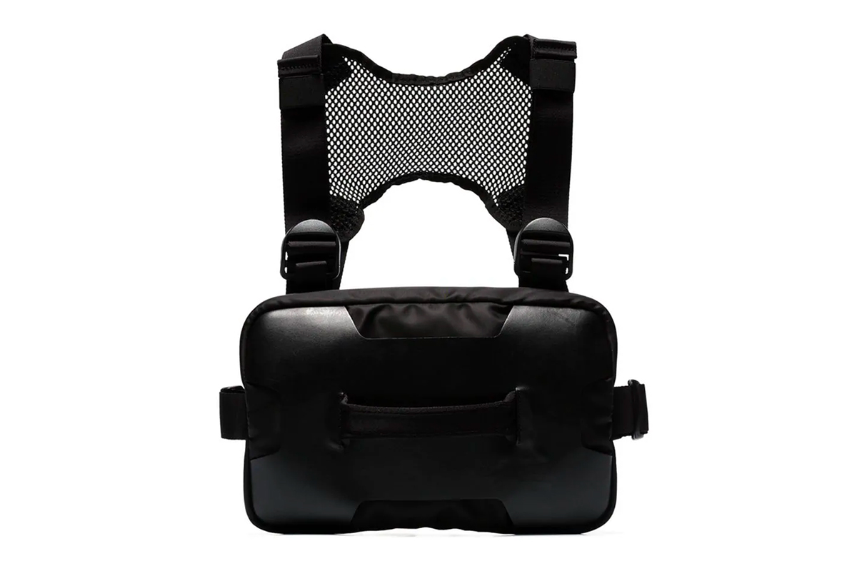 1017 ALYX 9SM Leather/Mesh Chest Rig