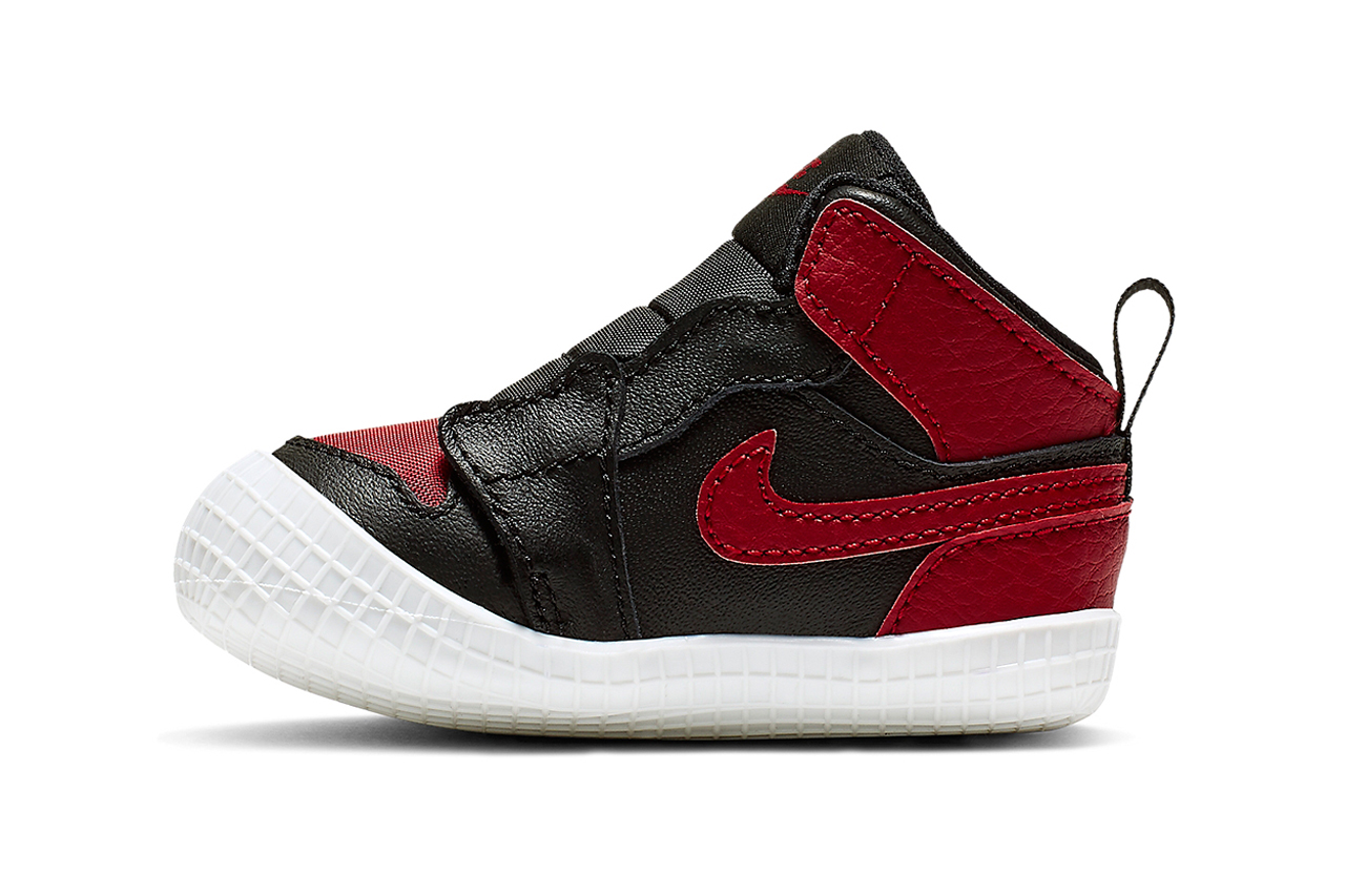 air jordan 1 crib banned colorway toddler sneakers