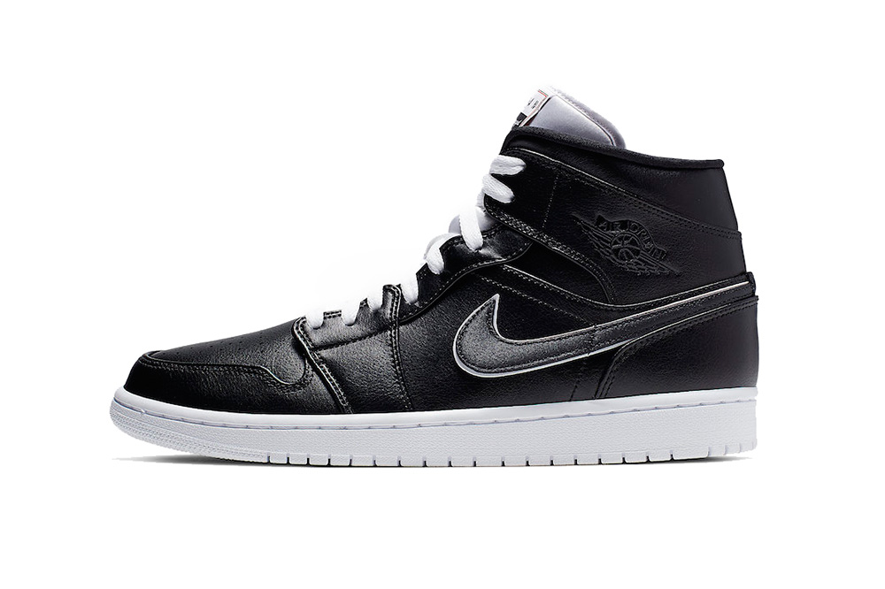 air jordan 1 mid maybe i destroyed the game 2019 footwear jordan brand black white