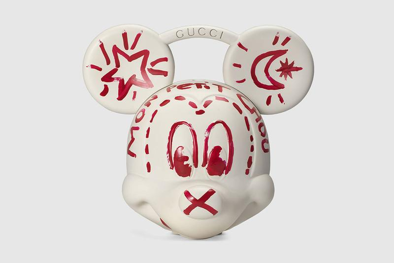 Gucci x Disney Mickey Mouse 3D-Printed Plastic Bag