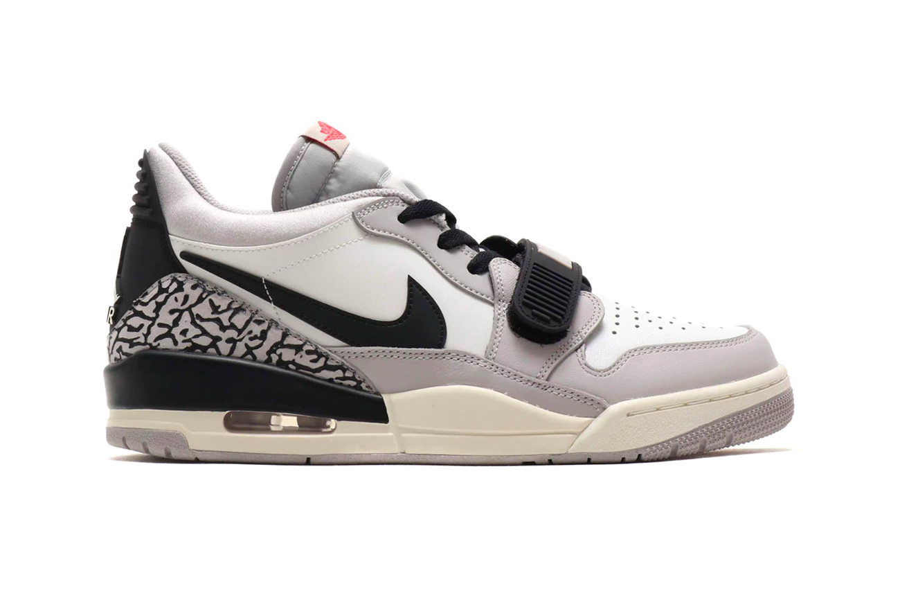 "Jordan Legacy 312 Low ""White and Fire Red"" Info release sneaker shoes jumpman"