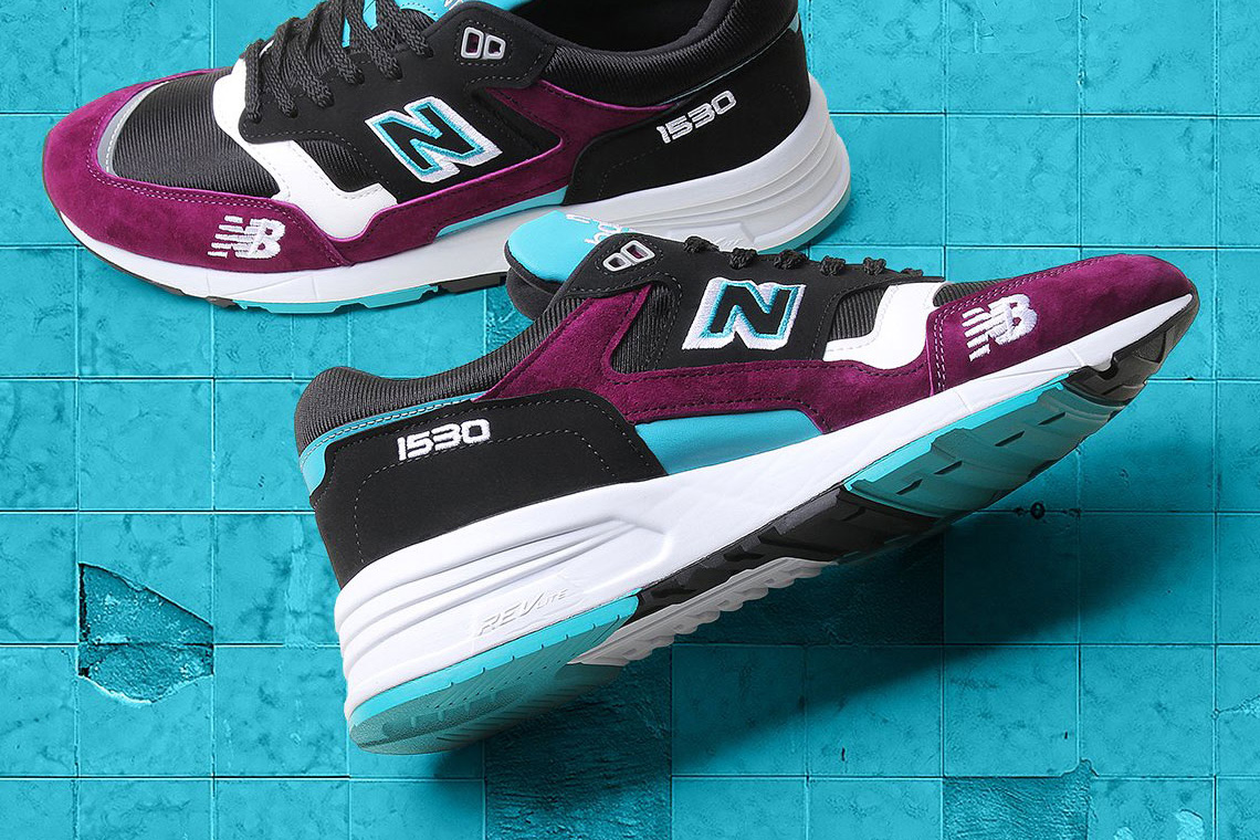 New Balance 1530 NB 1530 Purple and Teal
