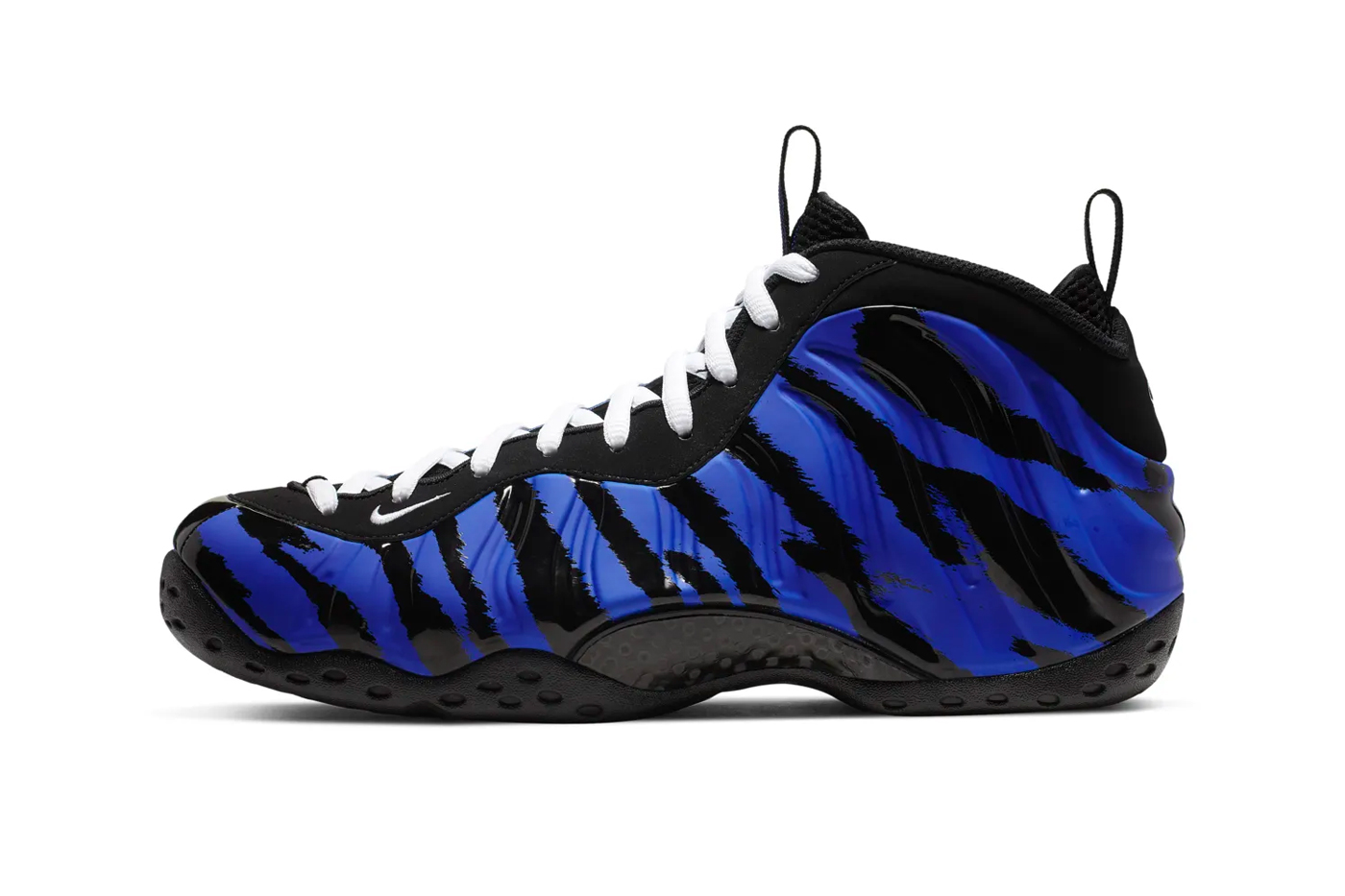 "finest selection 59ca8 bbd0e Nike Air Foamposite One ""Tiger Stripes"""