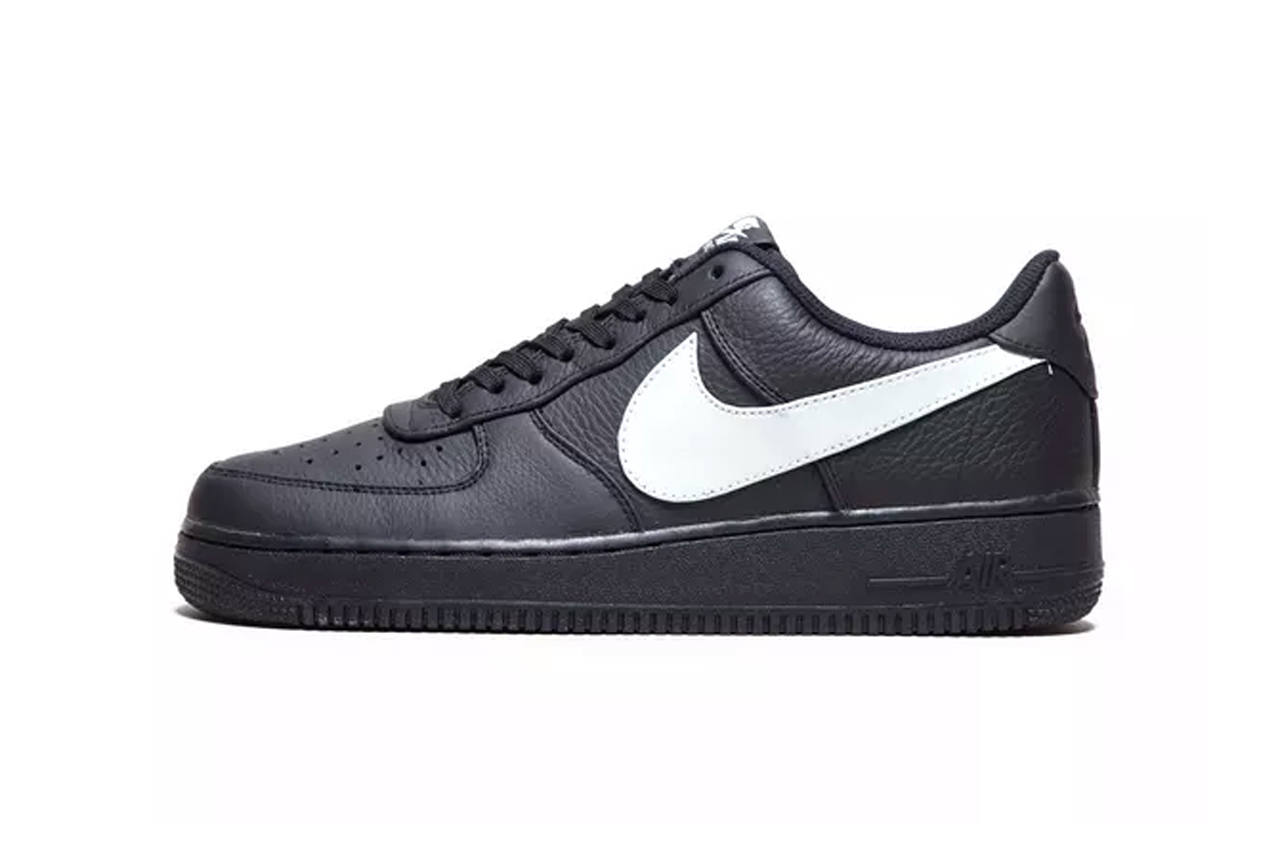 Nike Air Force 1 07 Premium Black Colorway Drop Hypebeast