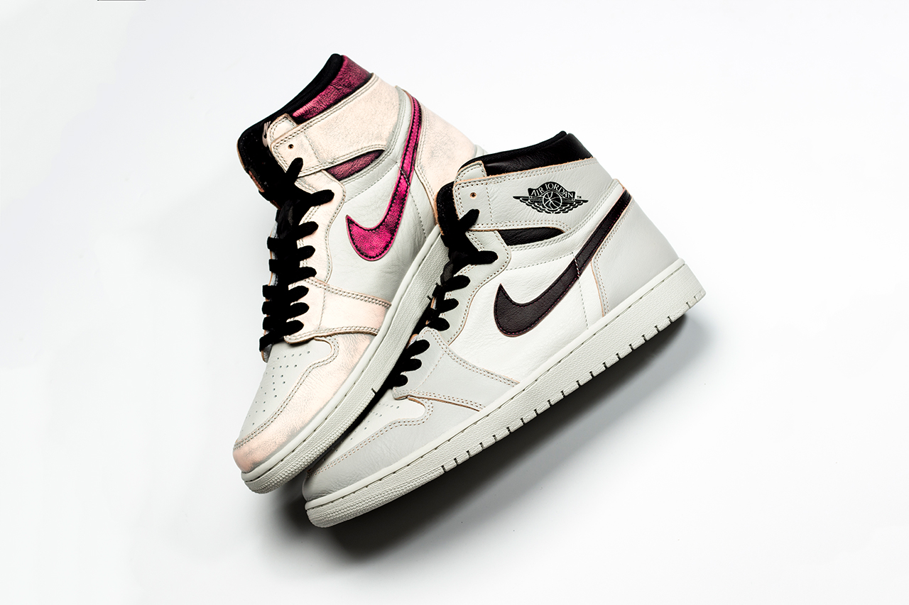 "Nike SB x Air Jordan 1 ""Light Bone"" to ""Chicago"" Court Purple Lakers"
