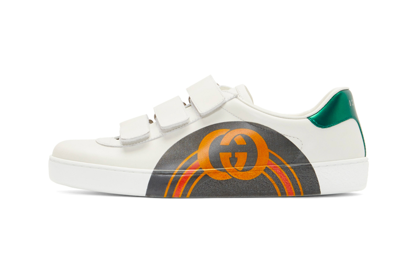 Gucci Velcro New Ace Sneakers