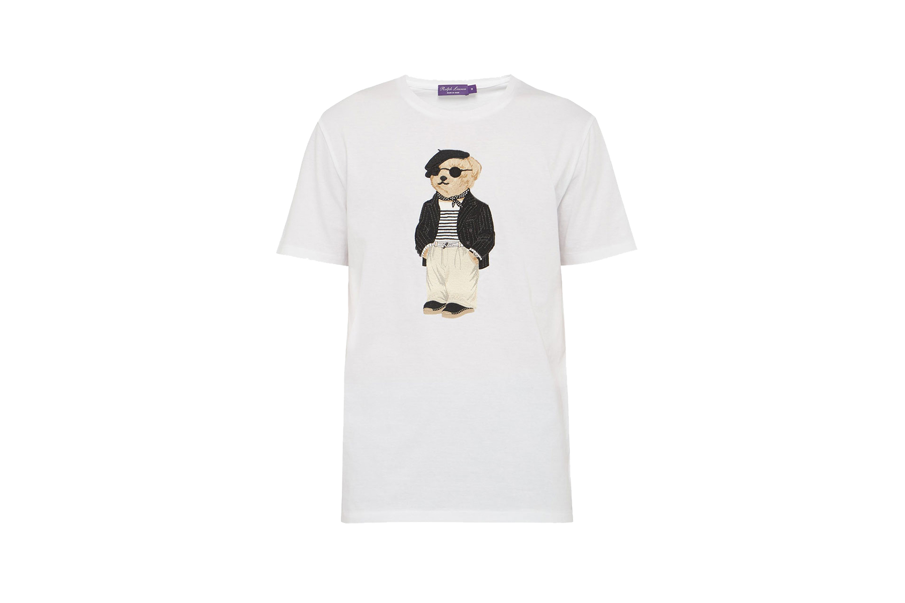 Ralph Lauren Purple Label SS19 Polo Bear T-shirt