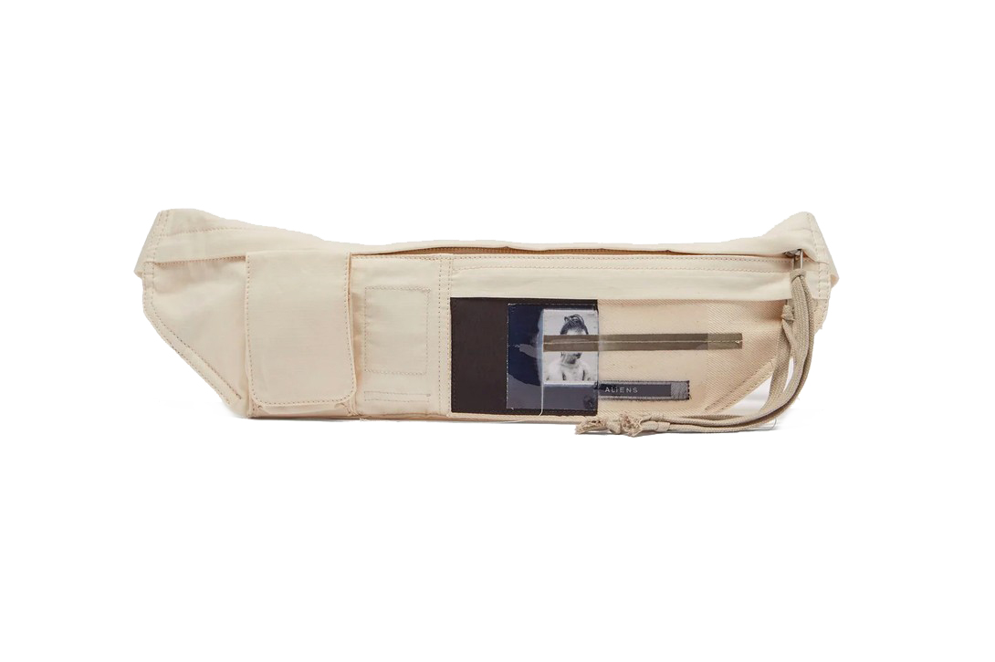 Rick Owens DRKSHDW Aliens Canvas Belt Bag