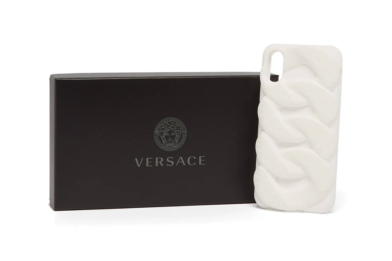 Versace Chain Reaction Sole Unit iPhone Case