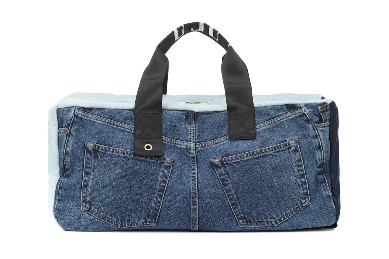 Acne Studios Blå Konst Denim Backpack
