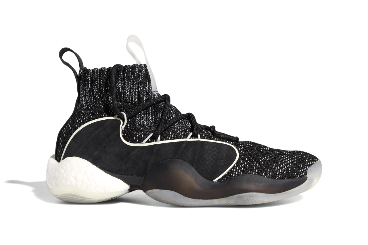 adidas crazy byw x core black grey one cloud white colorway sneaker release