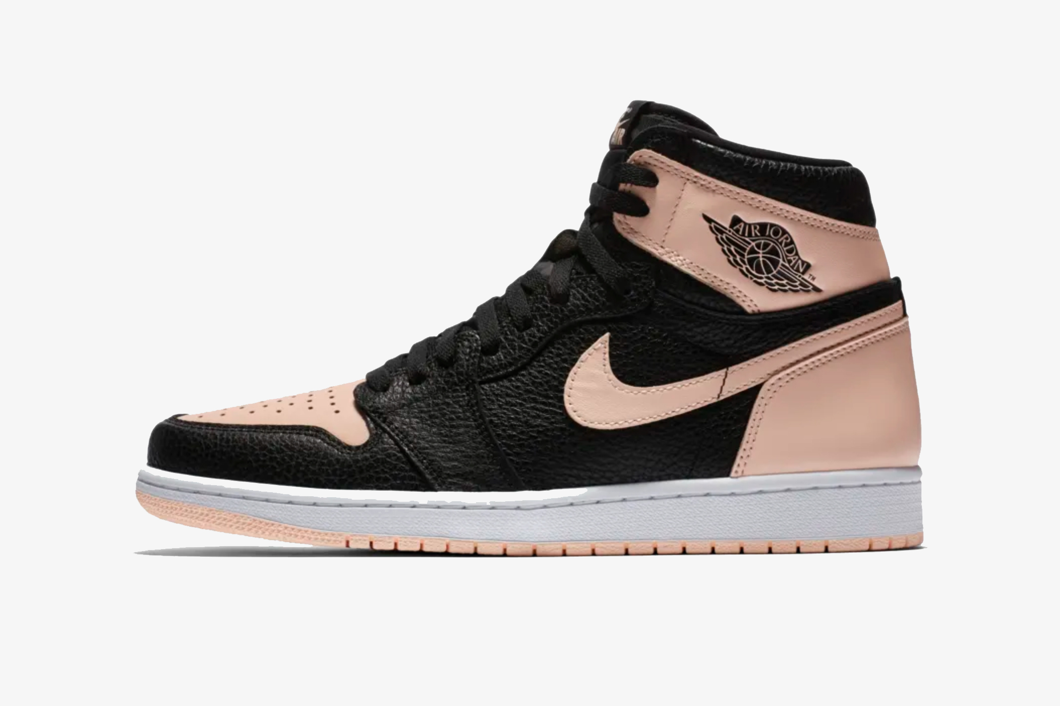 Air Jordan 1 Black Pink Colorway Release