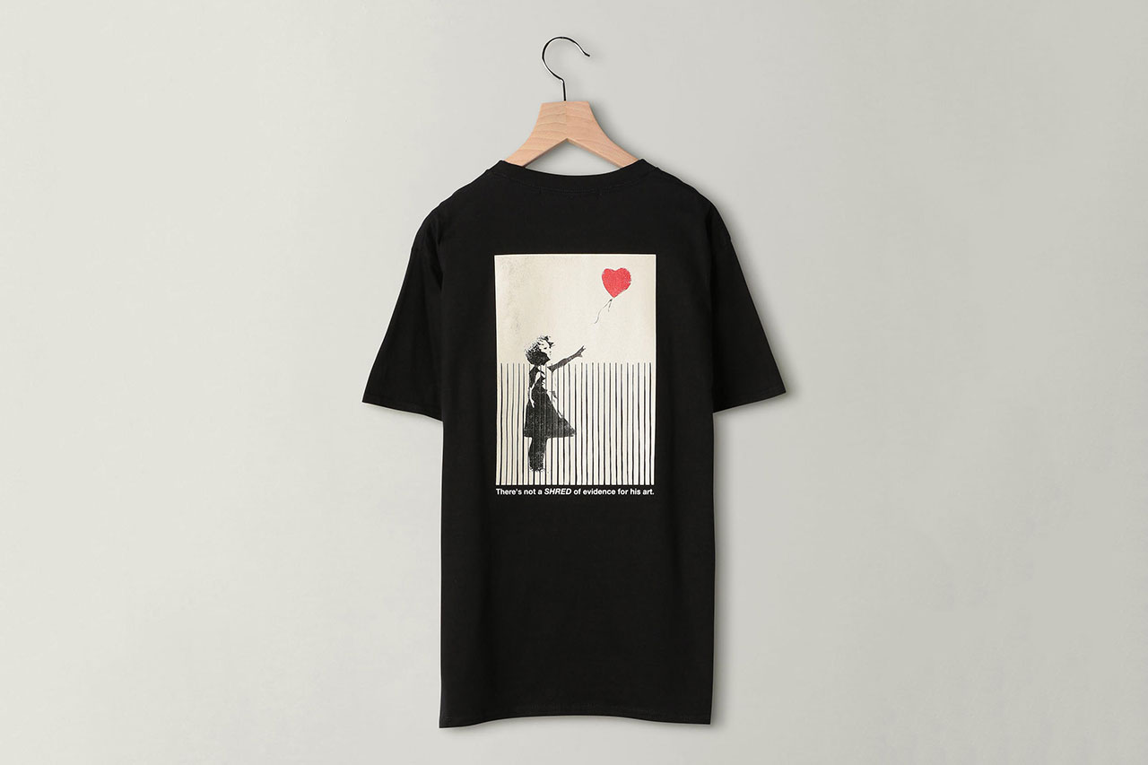 Banksy for BEAUTY & YOUTH UNITED ARROWS