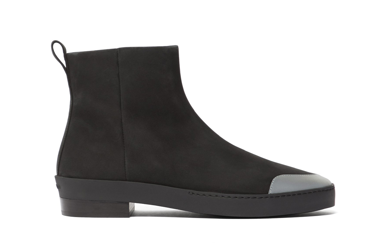Fear of God Santa Fe Nubuck Chelsea Boots Info Jerry Lorenzo black