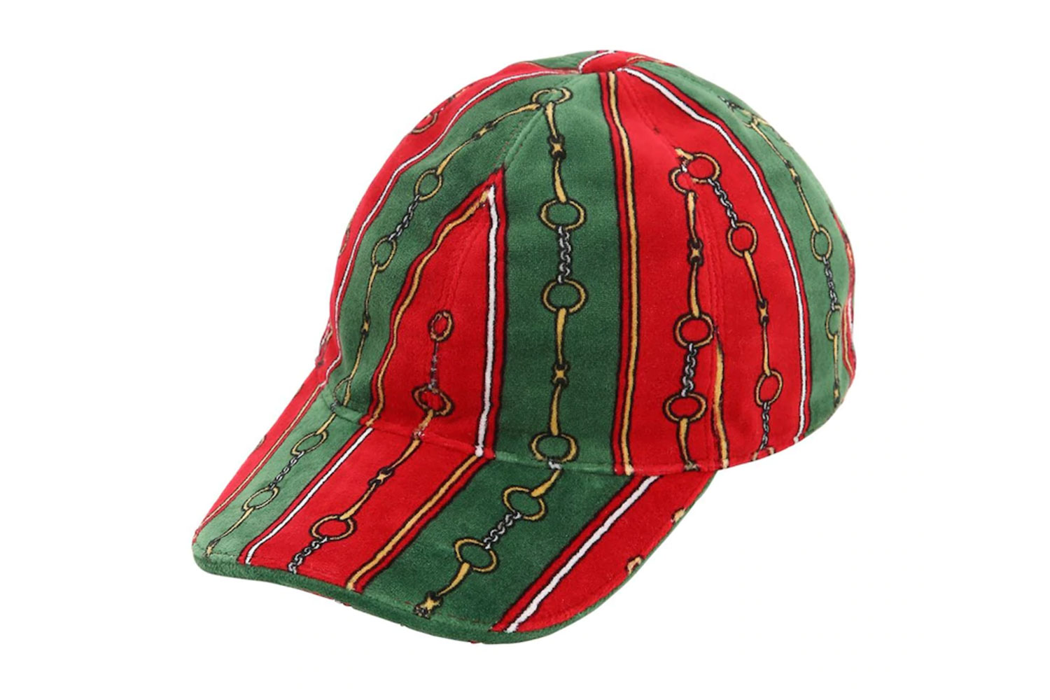 Gucci Printed Chenille Baseball Hat