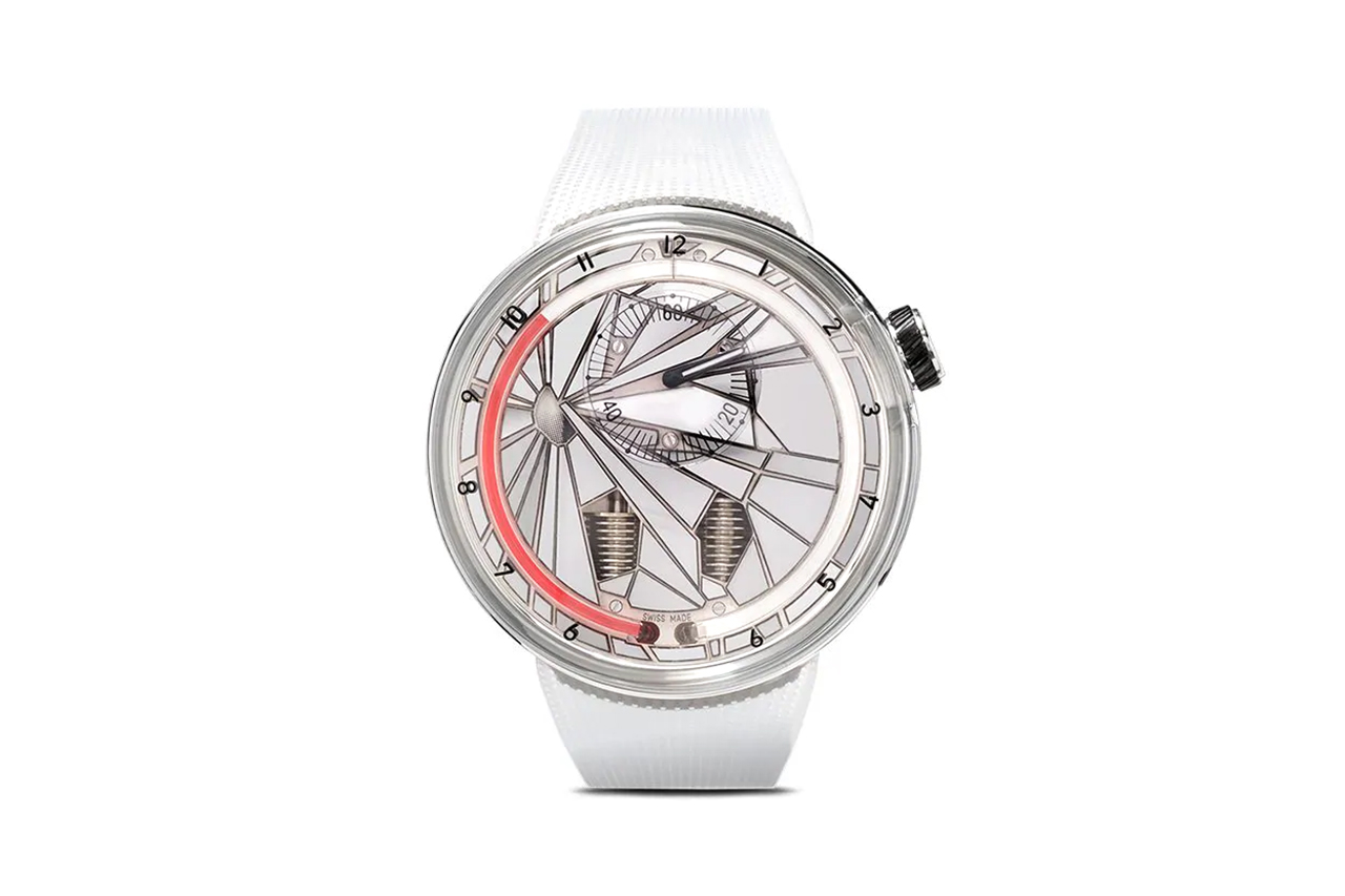 HYT Silver & Red H0