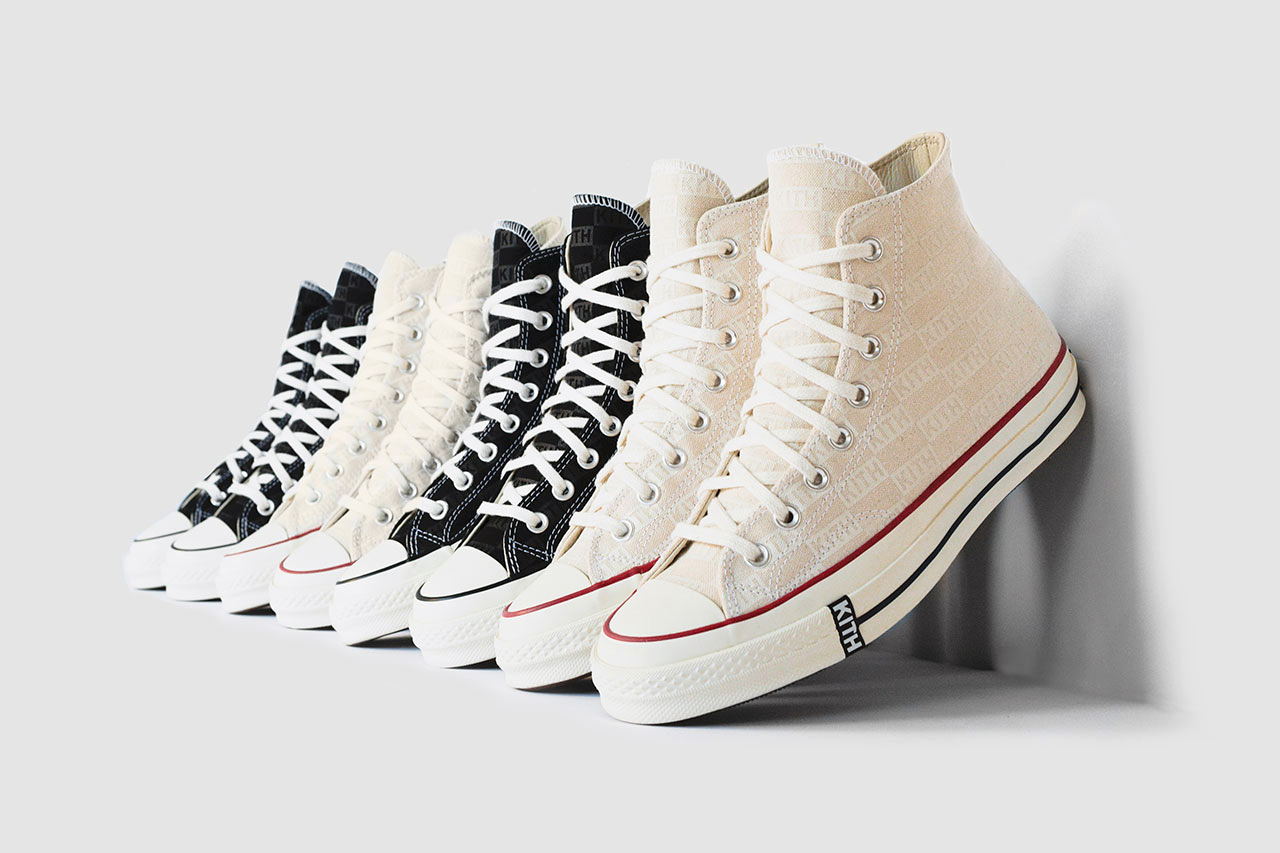 87e2a8d791b KITH Classics x Converse All Star Chuck Taylor 70 Hi Black and
