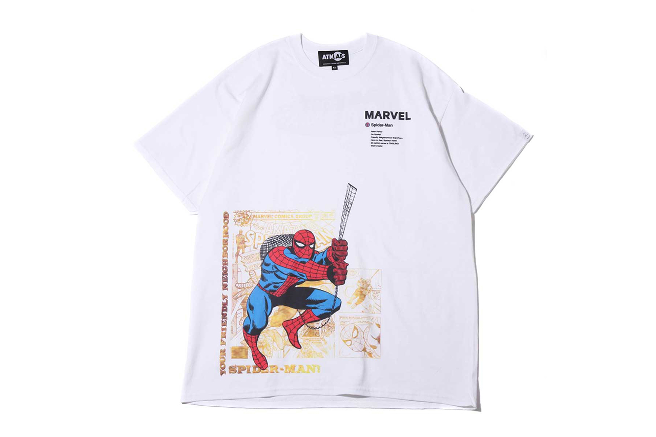 Marvel x atmos Lab T-shirts