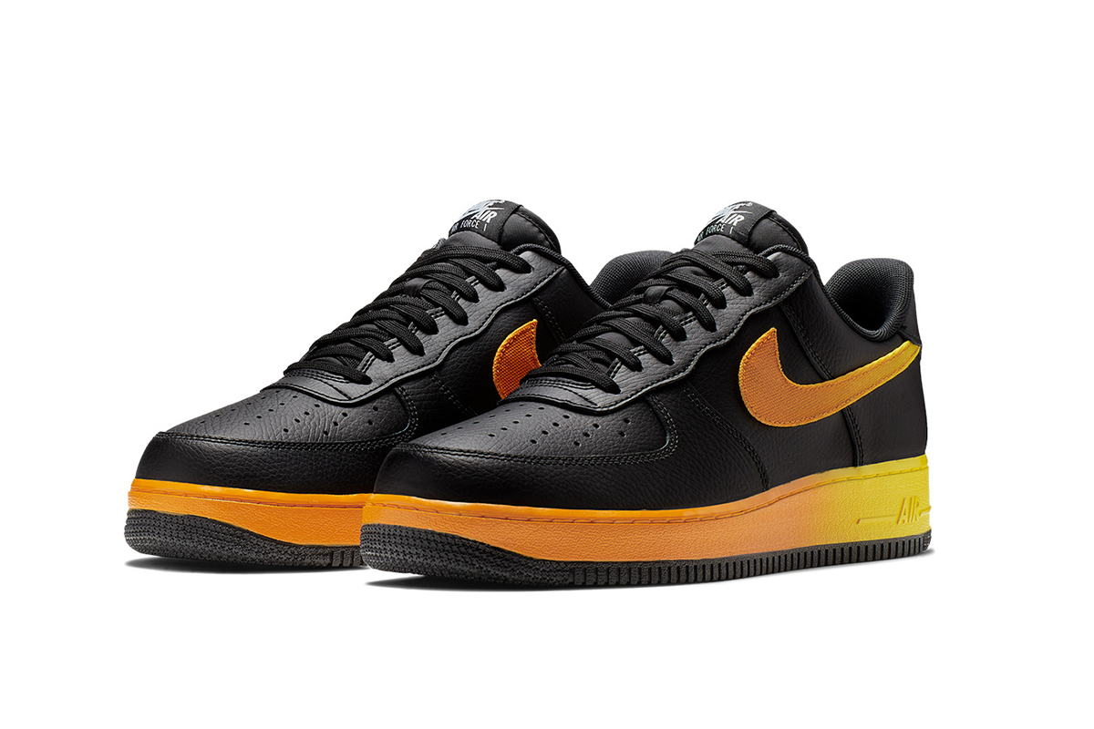 air force 1 noir et orange