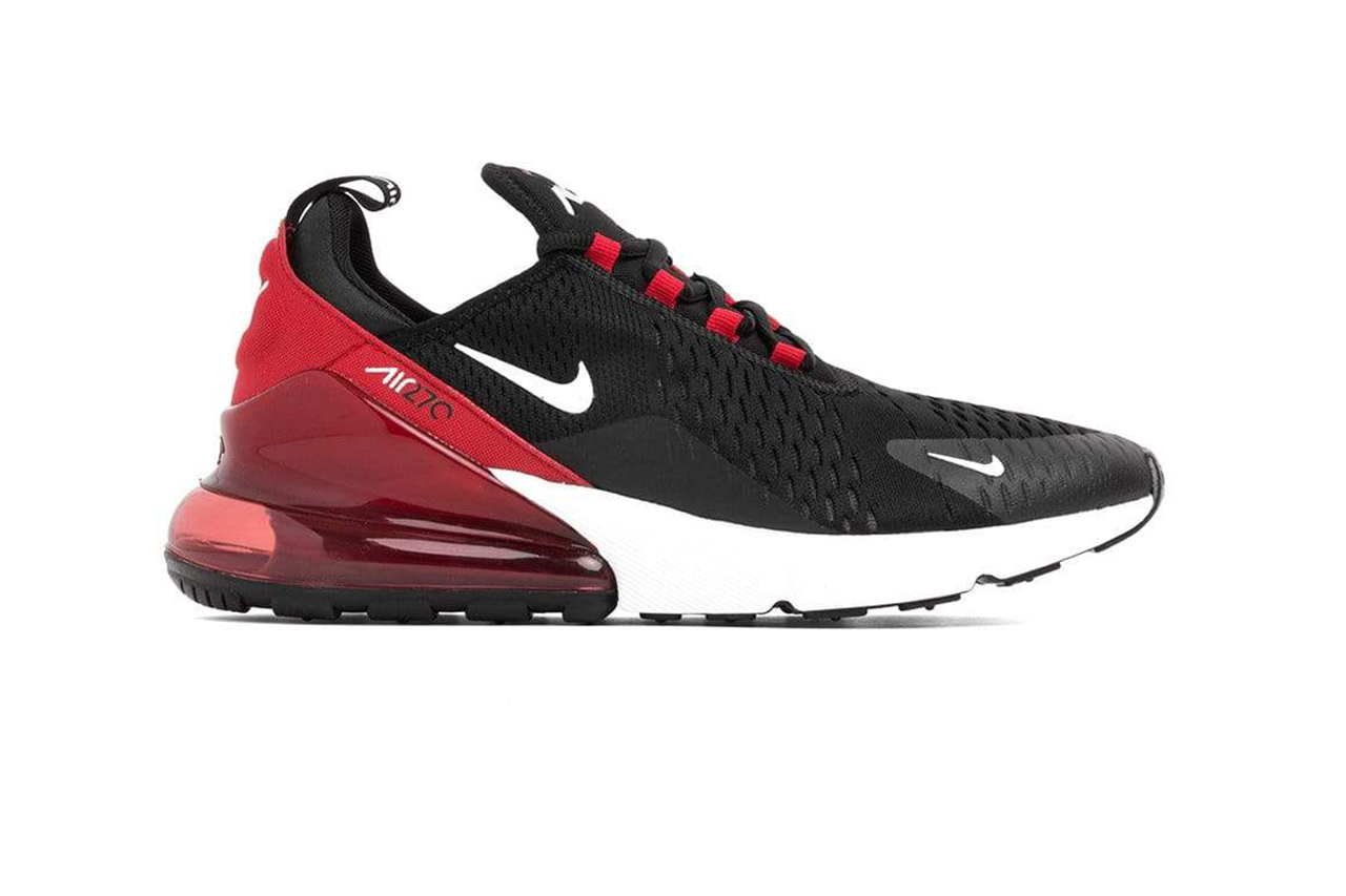 "big sale 56071 ee15d Air Max 270 ""Black White University Red"""