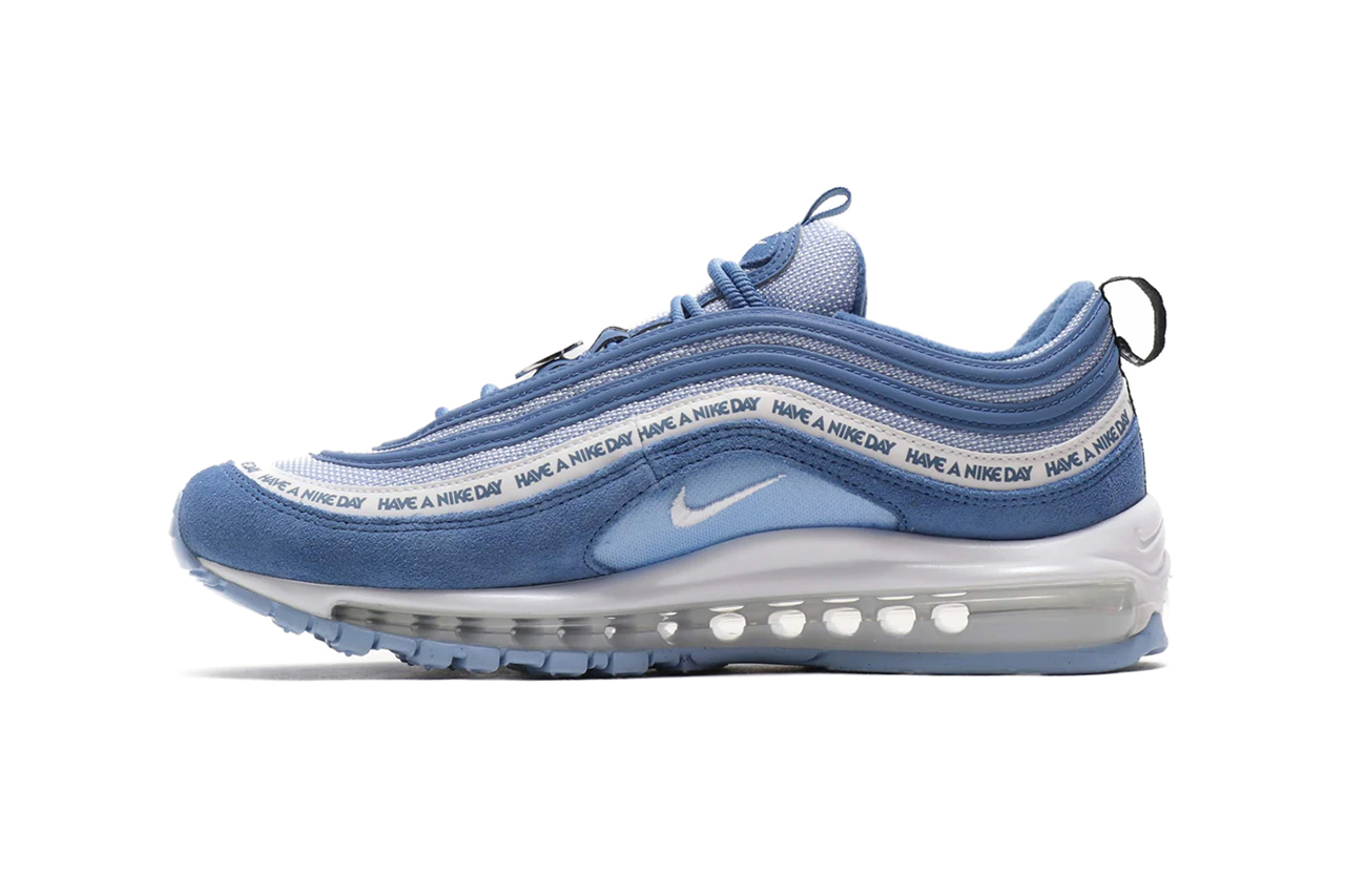"purchase cheap ea5a2 00959 Nike Air Max 97 ""Have A Nike Day"" Indigo Storm White Aluminium Black"