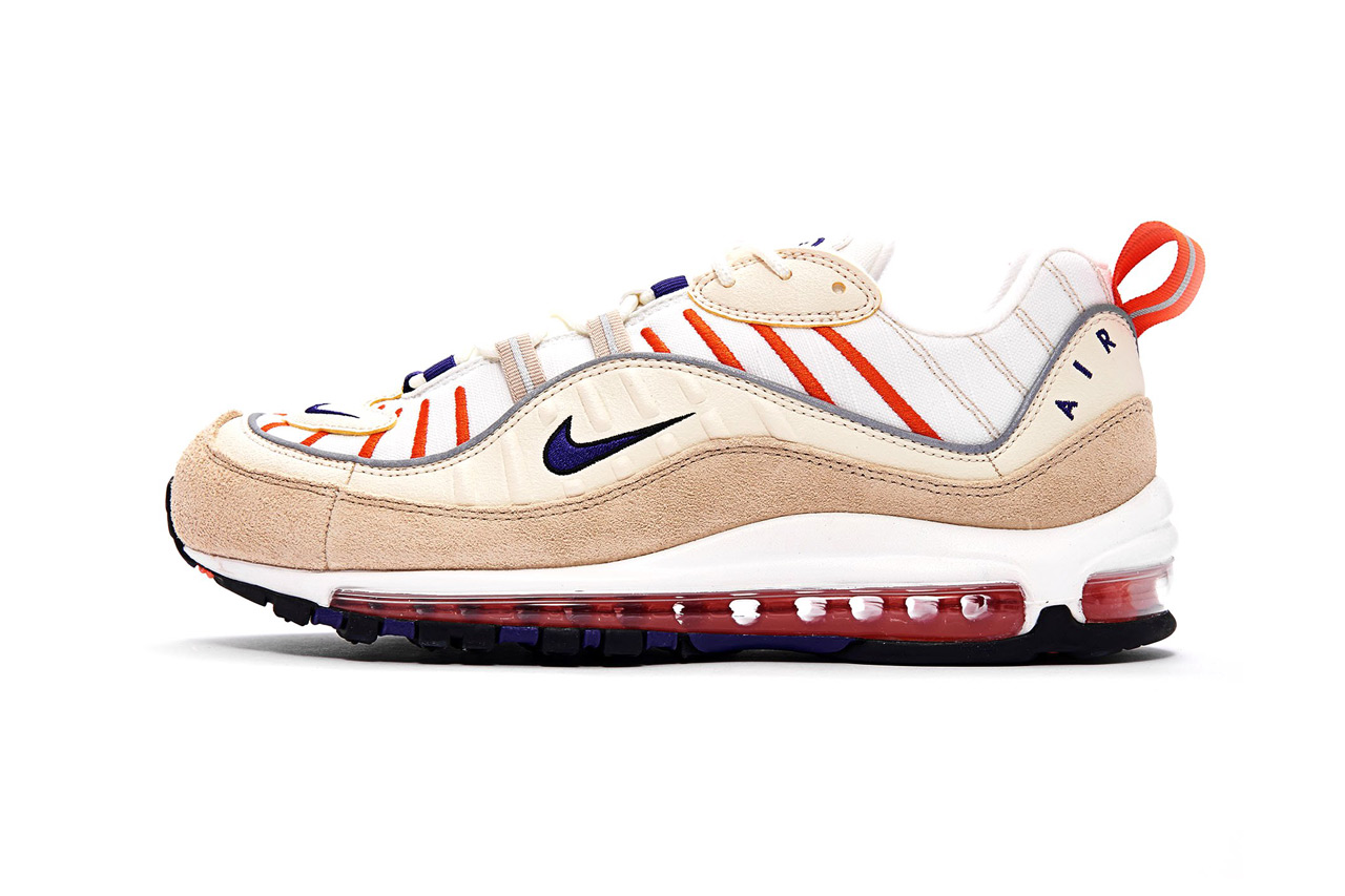 9b47598a13 Nike Air Max 98 Sail/Court Purple Light Cream | HYPEBEAST DROPS