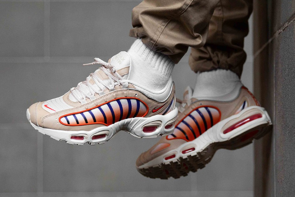Nike Air Max Tailwind IV Desert Ore Team Orange Campfire Orange AQ2567-200 Sneaker Release Footwear Drop Date GR Vintage Retro Where To Buy Information First Look