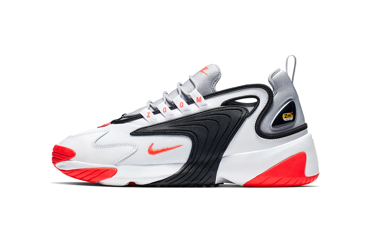 "new arrival 45fa7 ede1d Nike Zoom 2K ""White Wolf Grey Black Infrared 23"""