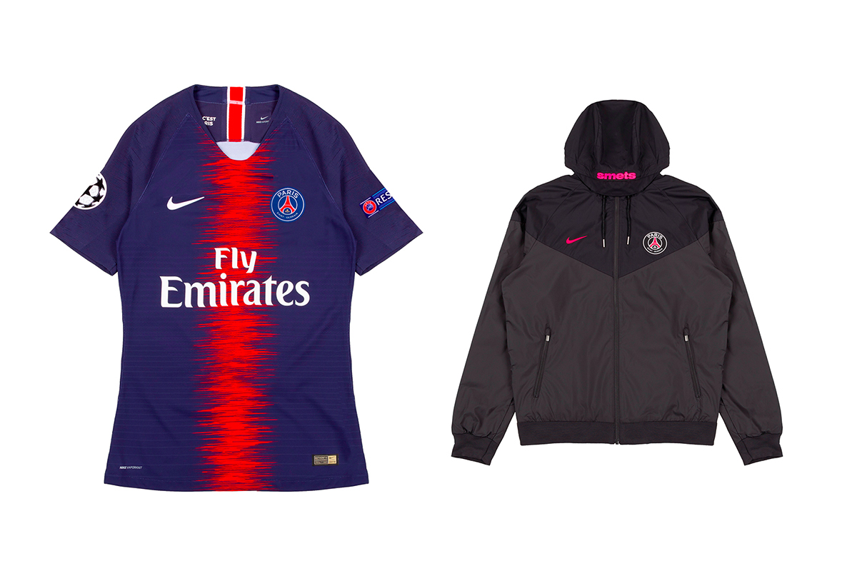 Smets x Paris Saint-Germain Collaboration