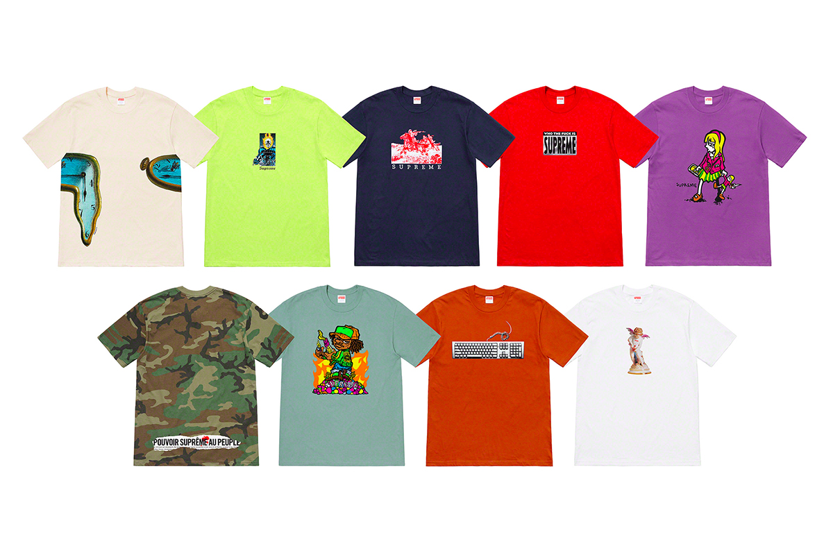 c02917576e8d Supreme/Palace SS19 Drop List Week 6 | HYPEBEAST