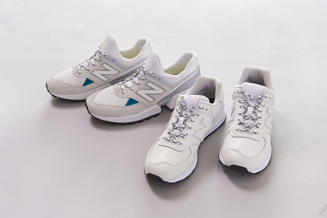 UNITED ARROWS x New Balance 574 ms Sport Collab colorway release date info exclusive drop buy May 2019 1431-499-7009 ml 1431-499-7008