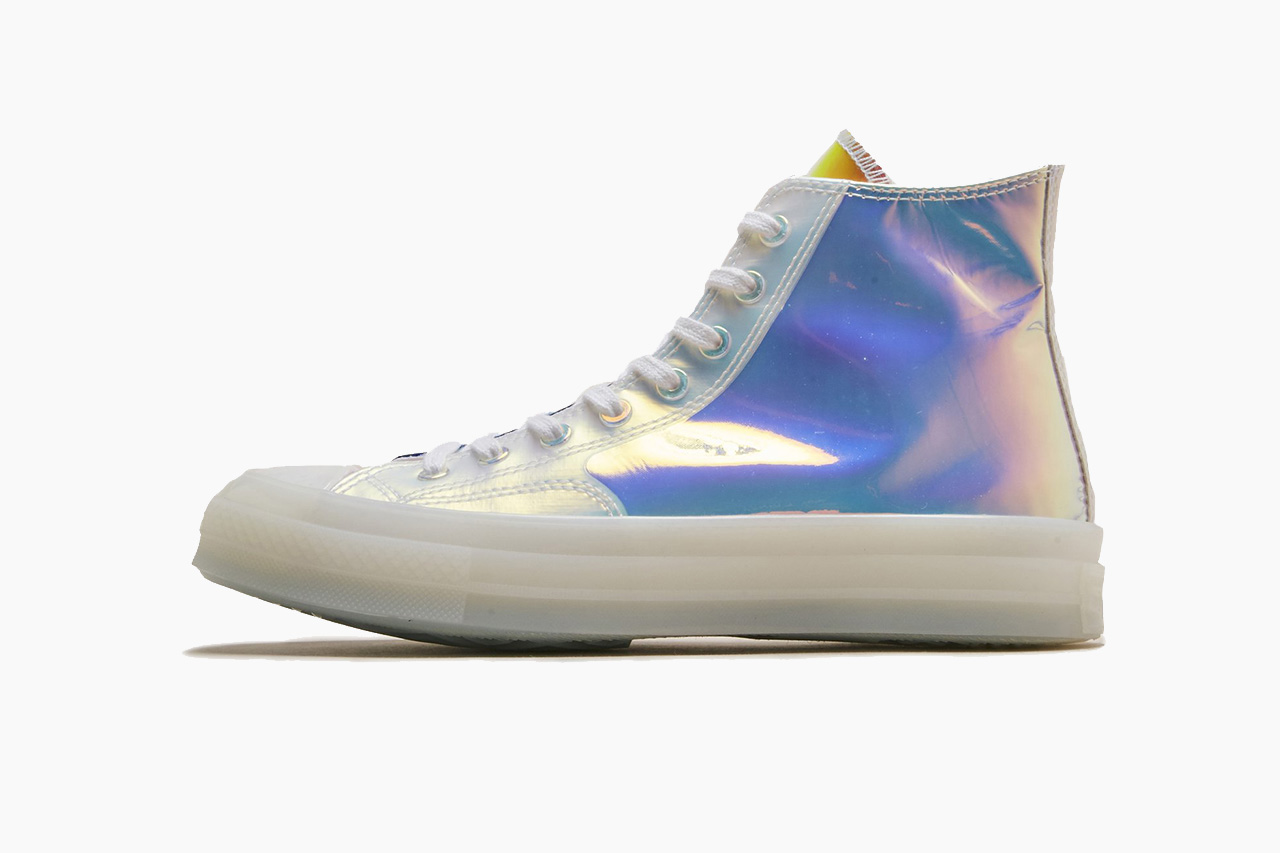 Converse Chuck Taylor in Iridescent and See-Through Mesh