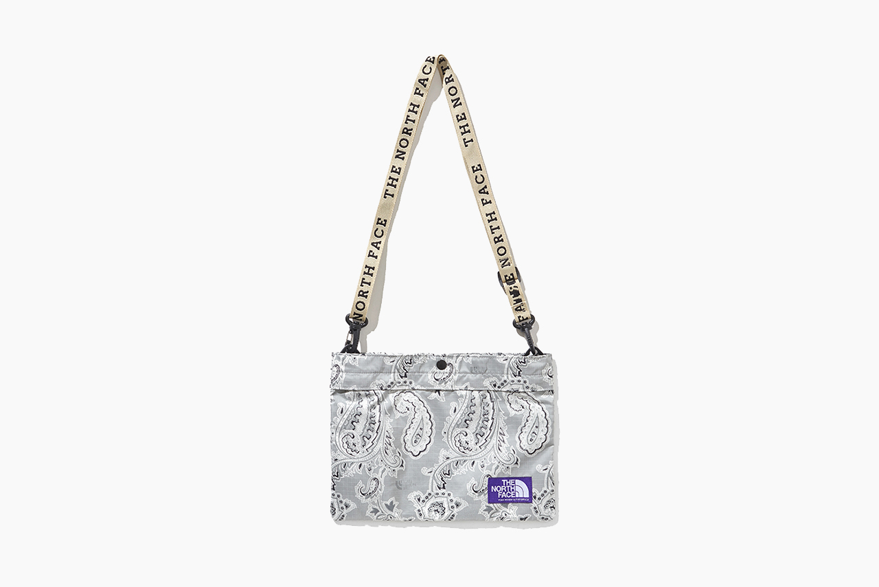 The North Face Purple Label Paisley Print Bags