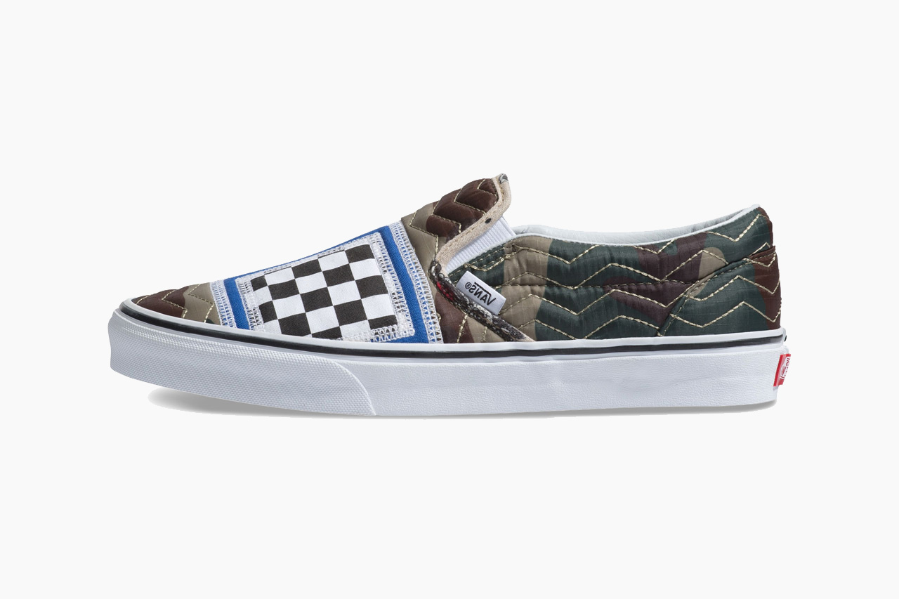 Vans Slip-On Mixed Quilting