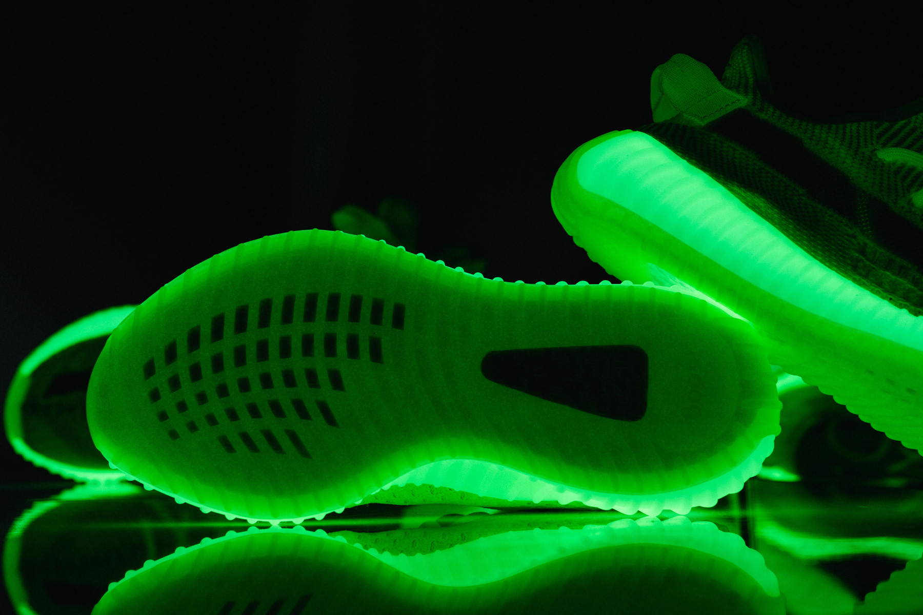 """798965ef7 Gallery  """"Glow-In-The-Dark"""" YEEZY BOOST 350 V2 coming in May"""