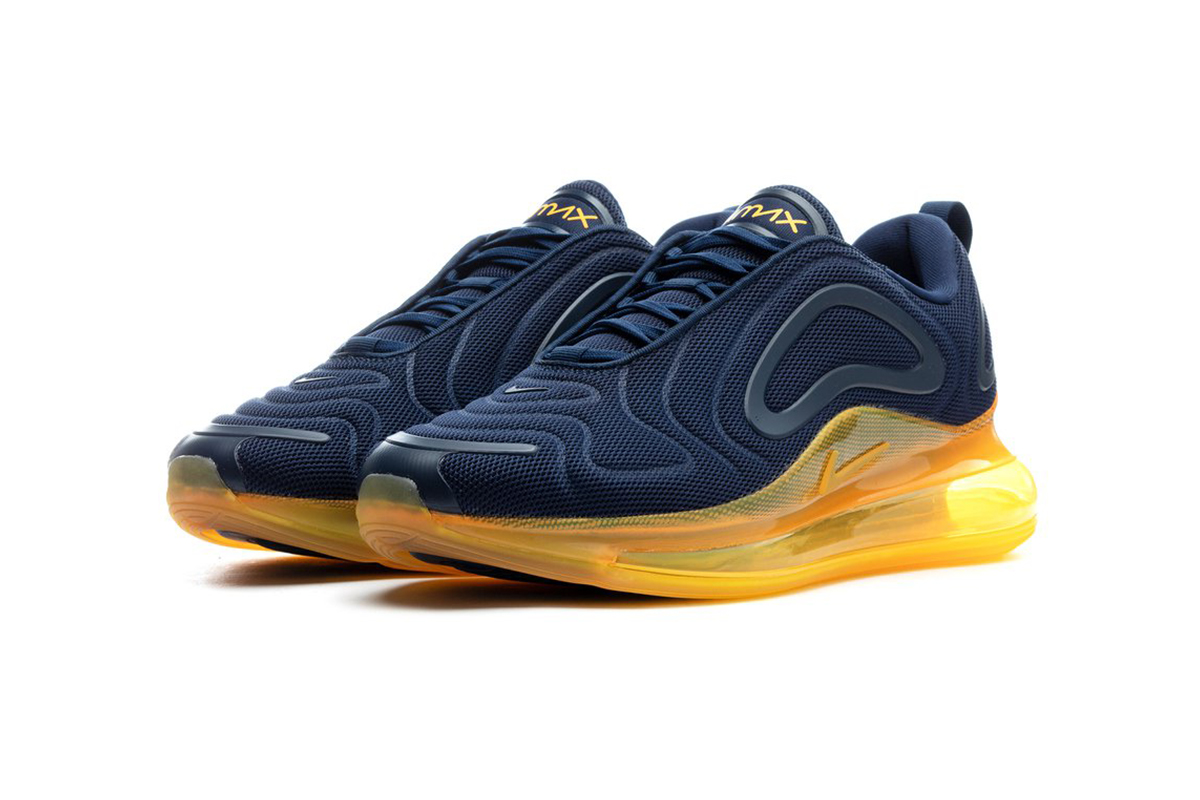 Nike Air Max 720 Midnight Navy/Laser Orange Info | HYPEBEAST DROPS