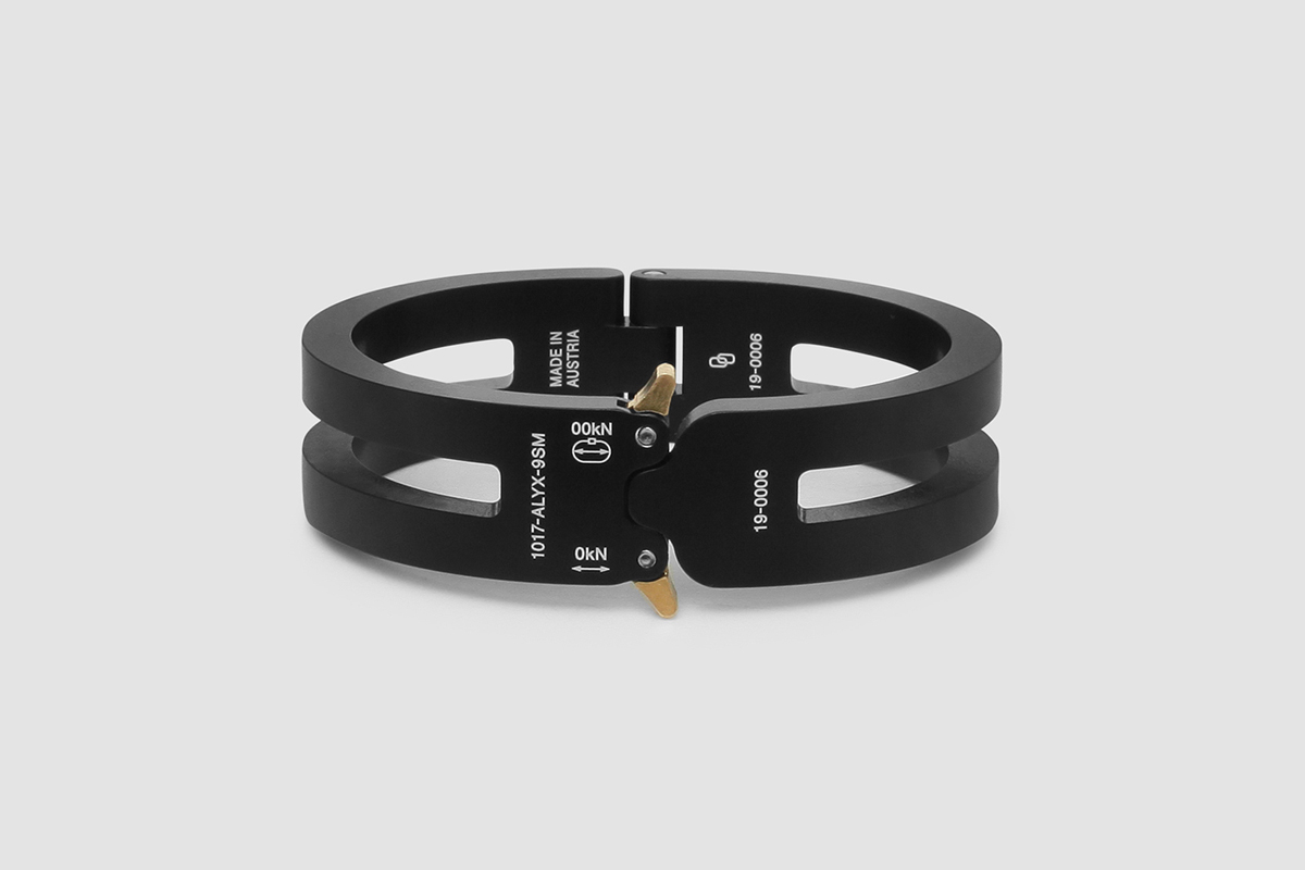 1017 ALYX 9SM Rollercoaster Bracelets Matthew M Williams Spring Summer 2020 SS20 Collection Accessories Drop Pre-Release Information Official Look