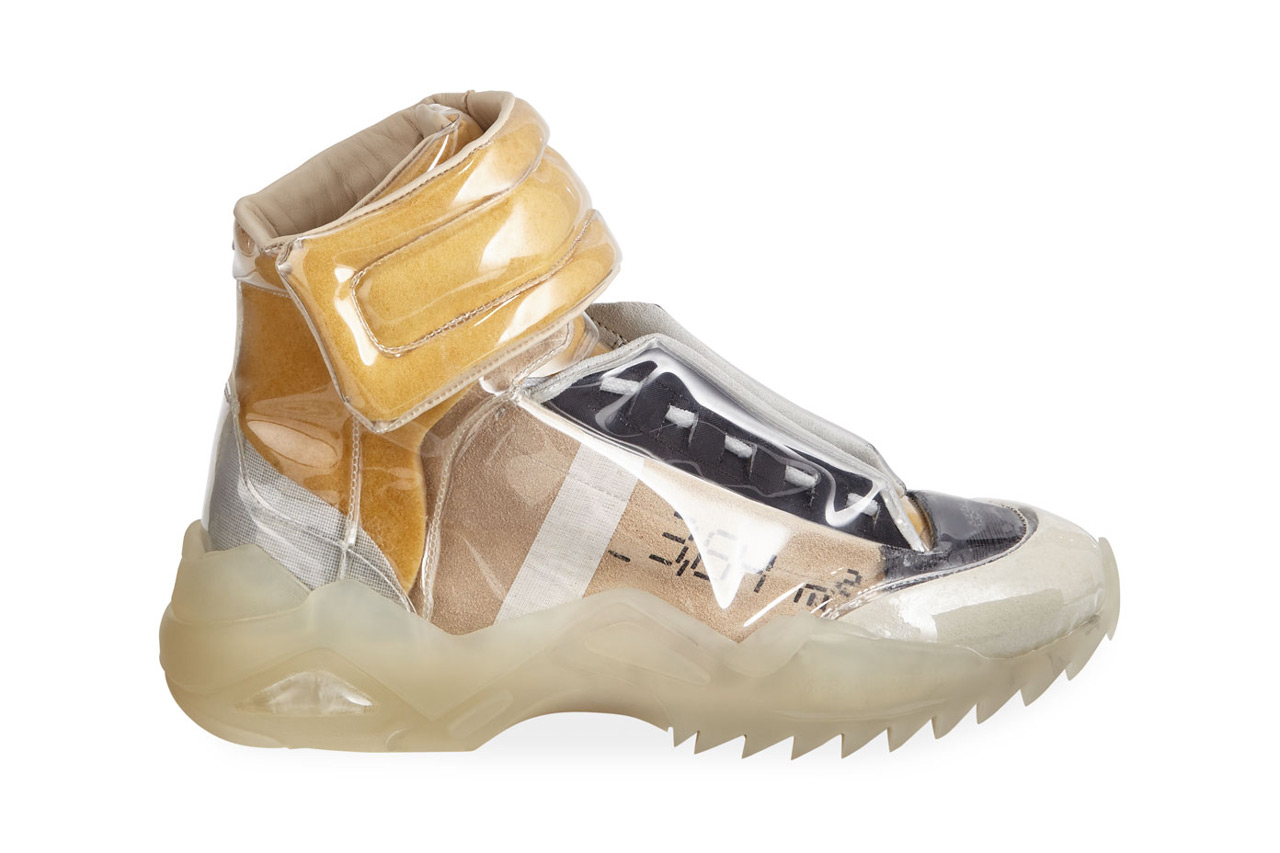 best service a33ca 9481f Maison Margiela 'New Future' Laminated Sneakers | HYPEBEAST