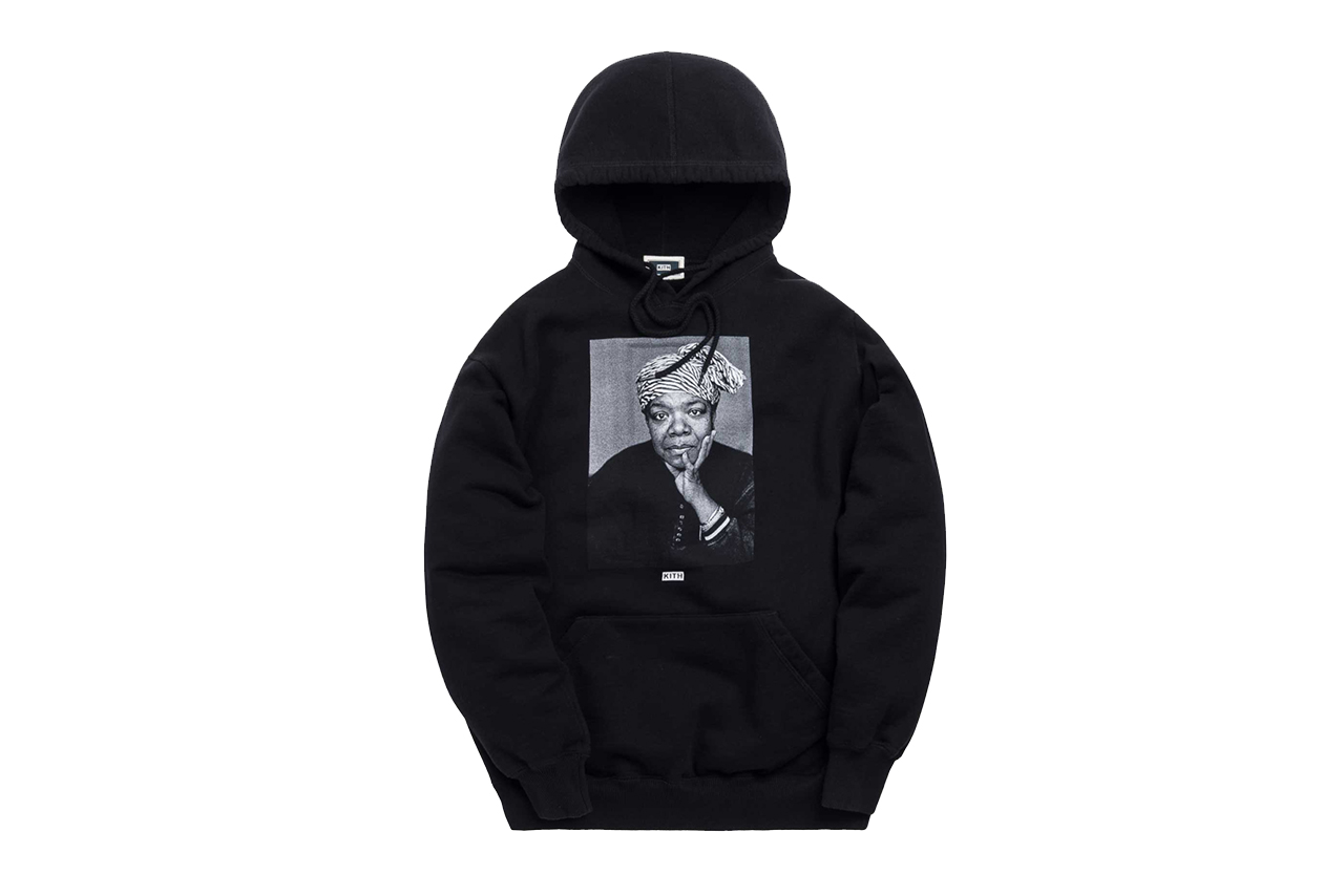 Kith for Maya Angelou High School Capsule Collaboration collection hoodie tee shirt monday program drop release may 13 2019