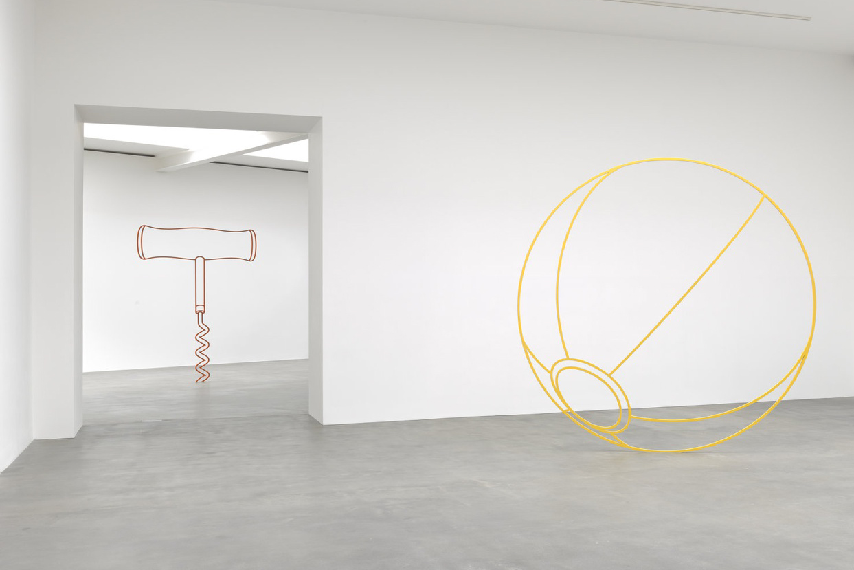 michael craig martin sculpture gagosian london exhibition sculptures artworks