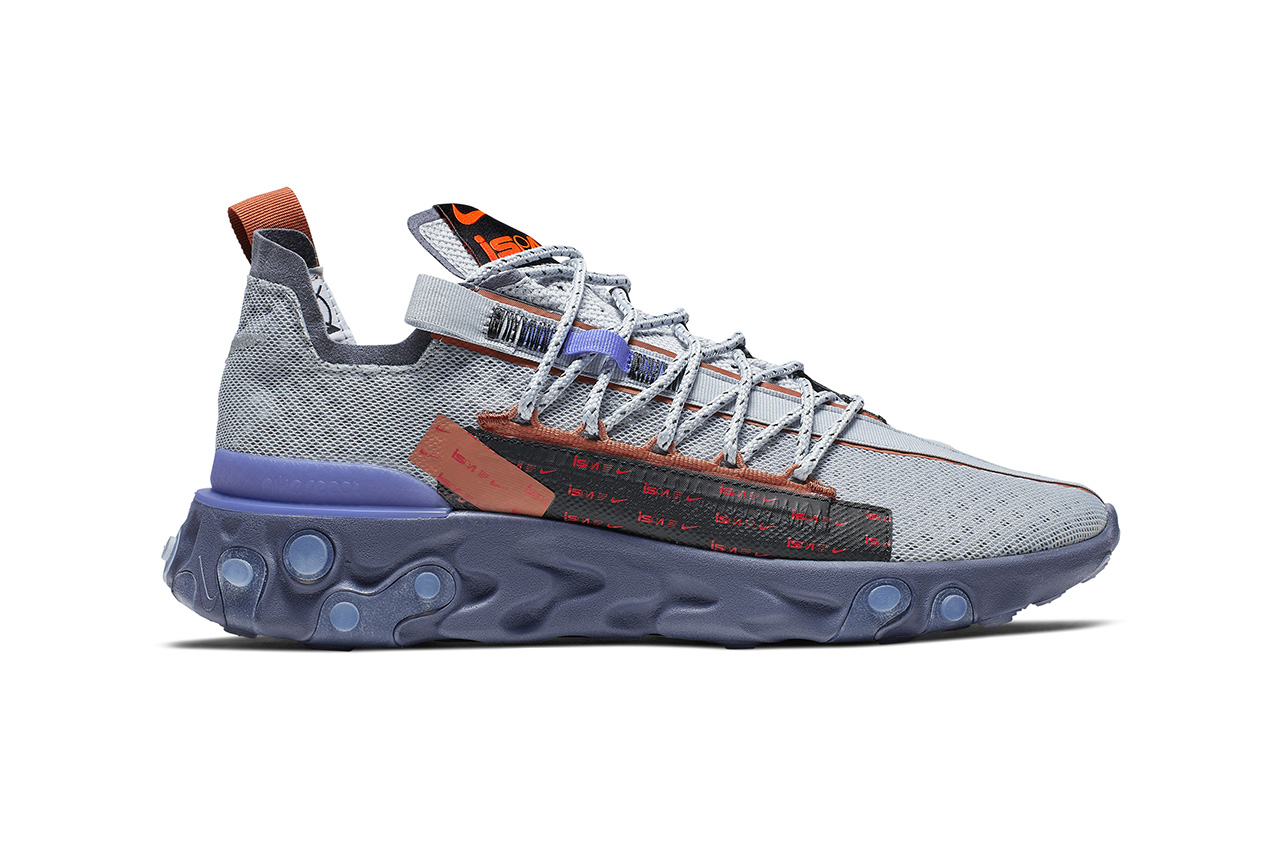 nike react runner ispa sneaker release information summer 2019 white black blue yellow buy cop purchase release information