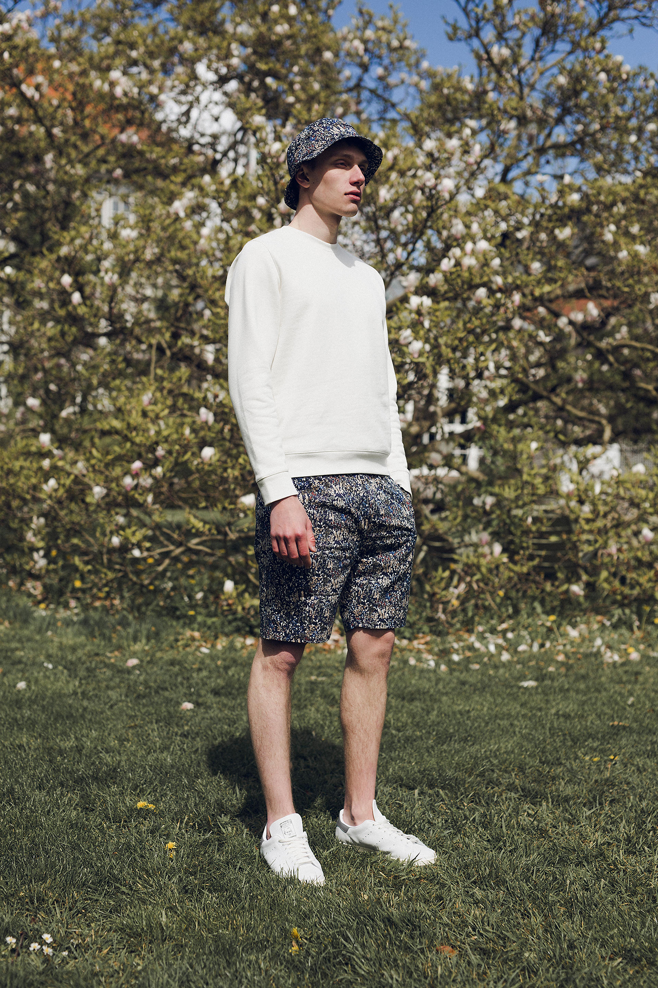 Norse Projects store liberty print floral 2019 summer jacket shorts cap bucket hat shirt release details information supreme nike buy cop purchase copenhagen